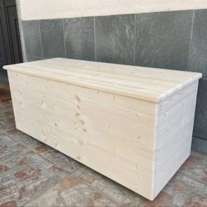 Cassapanca in legno Woody - SU MISURA