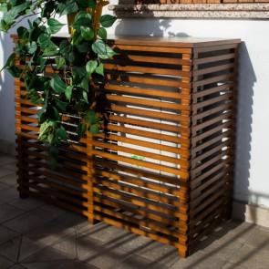 COPRI CONDIZIONATORE in legno noce 1050X505 mm