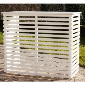 COPRI CONDIZIONATORE in legno sbiancato 1050X505 mm