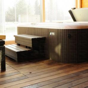 Pavimento da esterno legno FRASSINO Termotrattato