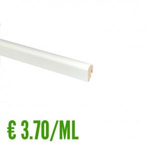 24 ML BATTISCOPA BIANCO MDF 20x40 mm - Passafilo -  Posa Clip CH23 -CONFEZIONE RISPARMIO