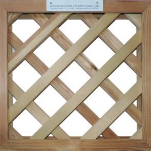 GRIGLIATI SU MISURA in legno trattato - maglia 8 cm