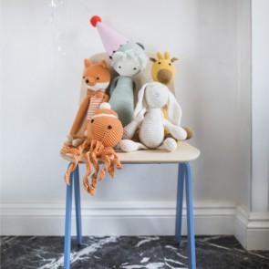 SEDIA PICCOLA per bambini in legno di Betulla 31 x 28 x 55 h. cm - 8 Colori