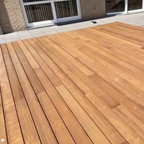 Pavimento da esterno legno ITAUBA 19 x 90 mm - Promo ALL INCLUSIVE - Posa con Clip