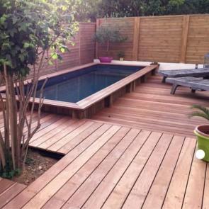 Pavimento da esterno legno ITAUBA 19 x 90 mm - Promo ALL INCLUSIVE - Posa con viti