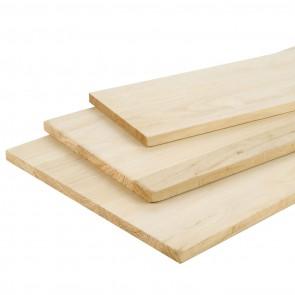 Tavola Lamellare legno di PAUWLONIA spessore 18 mm. 1000 x 300 mm
