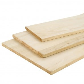 Tavola Lamellare legno di PAUWLONIA spessore 18 mm. 1000 x 500 mm