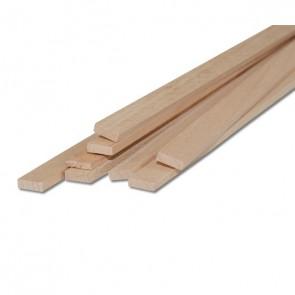 Listelli Piallati in legno Faggio naturale - CONFEZIONI RISPARMIO