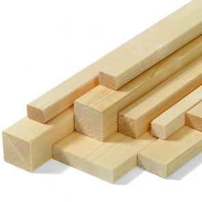 Listelli legno di ABETE lunghezza 200 cm.