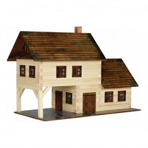 GIOCO COSTRUZIONE per bambini in legno Taverna - 213 Pezzi