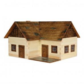 GIOCO COSTRUZIONE per bambini in legno Maso isolato - 154 Pezzi
