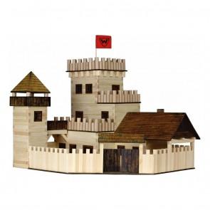 GIOCO COSTRUZIONE per bambini in legno Castello - 607 Pezzi
