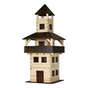 GIOCO COSTRUZIONE per bambini in legno Torre - 276 Pezzi