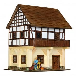 GIOCO COSTRUZIONE per bambini in legno Granaio a graticcio - 115 Pezzi