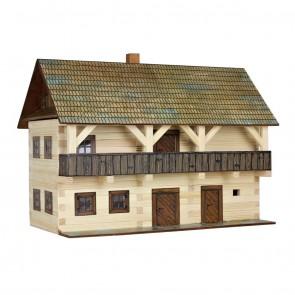 GIOCO COSTRUZIONE per bambini in legno Residenza - 298 Pezzi