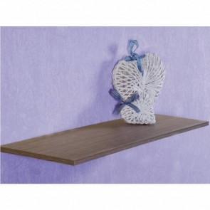 Ripiano mensola in legno Melaminico Rovere Grigio - 8 dimensioni