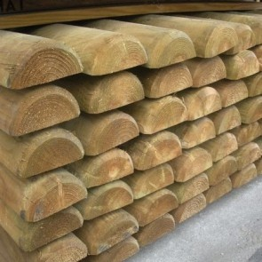 Mezzi Pali legno PINO classe 4