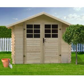 Casetta in legno SAT 298 x 298 x 218 h. cm