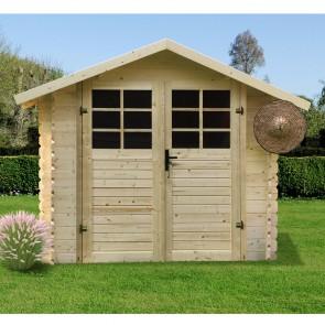 Casetta in legno SAT 238 x 238 x 207 spessore 28