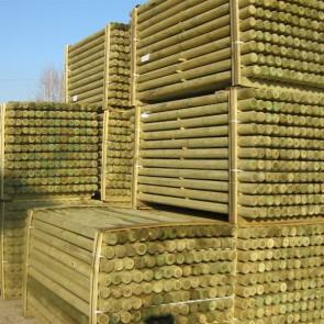Pali torniti in legno PINO certificato classe 3