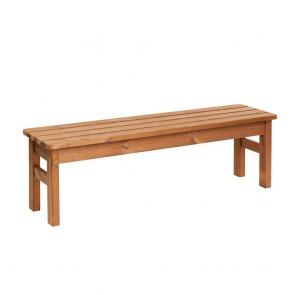 PANCA da giardino in legno 145 x 40 x 45 cm