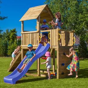 Parco Giochi in legno Carol 3 - 310 x 460 x 290h cm