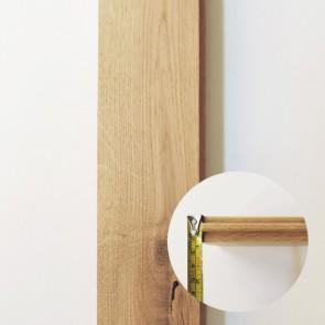 Parquet legno massello ROVERE 70 x 500 mm - EXTRA SPESSORE 22 mm