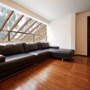 Parquet vero legno di BAMBOO CARAMEL SMOOTH 10 x 125 X 920 mm