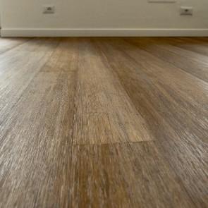 Parquet vero legno di BAMBOO CARAMEL SPAZZOLATO 10 x 125 X 920 mm