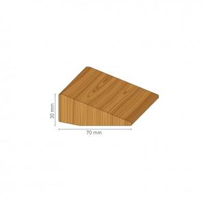 Profilo perimetrale x mattonelle lunghezza 150 cm.