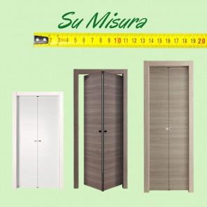 Porta interna su misura - Easy Melaminico pieghevole a soffietto