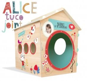 Casetta in legno da Indoor per bambini ALICE