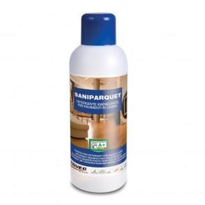 Detergente igienizzante per pavimenti in legno SANIPARQUET