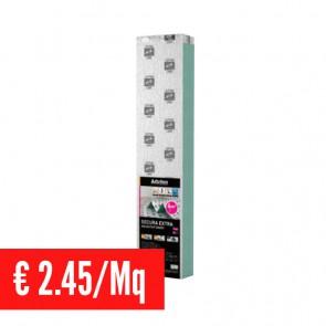 Sottopavimento fonoassorbente SECURA EXTRA AQUASTOP SMART 3 mm con Barriera Antivapore - Conf. 6 Mq