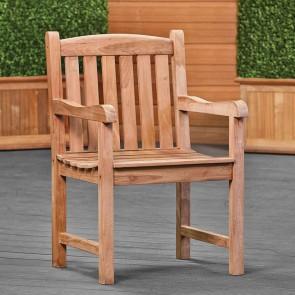 Sedia in legno da giardino - 58 x 50 x 93h cm