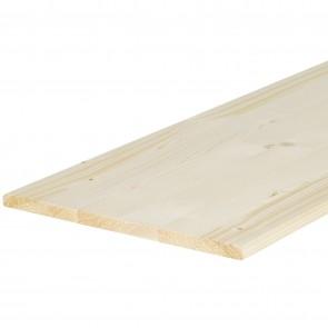Tavola lamellare legno ABETE spessore 14 mm. 800X300 mm