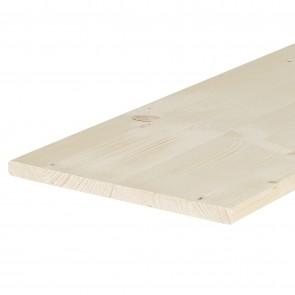 Tavola lamellare legno ABETE spessore 18 mm. 1200 x 500 mm