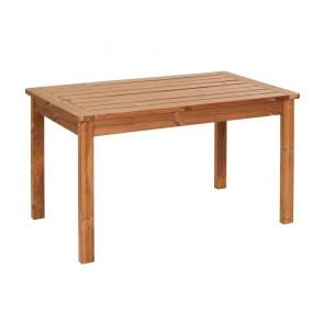 Tavolo da giardino in LEGNO THERMOWOOD 135x 80 x 76 cm - DURATA 30 ANNI