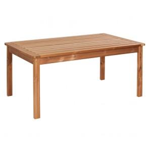 Tavolo da giardino in LEGNO THERMOWOOD 80 x 60 x 76 cm -  DURATA 30 ANNI