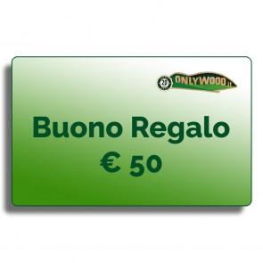 Buono regalo Onlywood - € 50