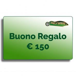 Buono regalo Onlywood - € 150