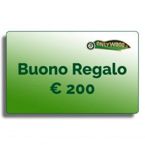 Buono regalo Onlywood - € 200