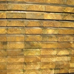 Travi in legno PINO certificato uso esterno - 8,5 x 3,8 x 300 cm
