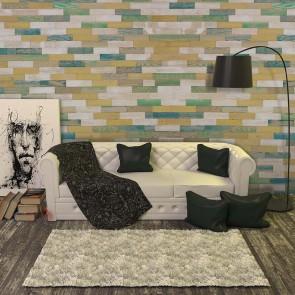 Pannelli Murali in VERO LEGNO Rovere Colorato Vintage - Conf. 1 MQ