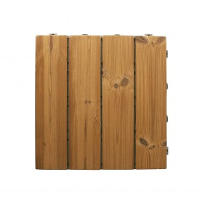 Piastrella autoposante da esterno SMARTDECK Thermowood 40x40x2,5 cm