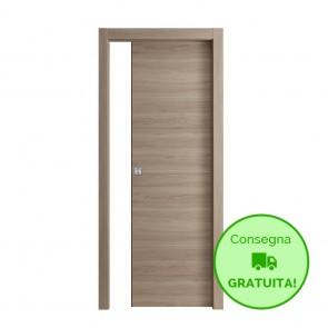 Porta Scorrevole Interna Reversibile EASY Melaminico Cipria h. 210 cm - 4 Dimensioni