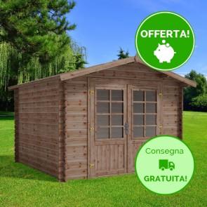 Casetta in legno CLEO 300X300 Cm - Trattamento da esterno ACORD