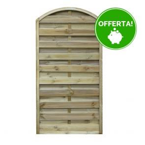 Pannello frangivista CLASSICO ad ARCO 90 x 180 h. cm in legno impregnato