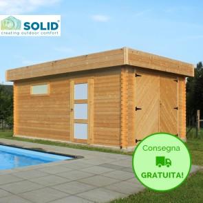Garage-Box  MODERN 358 x 538 x 256  h. cm con porte battenti