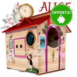 Casetta in legnoda giardino per bambini XL Fantasia ALICE